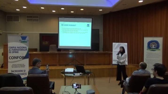 Conferinta regionala Bucuresti 20.02.2019, Prezentare CONFORM Iulia Grigoriu