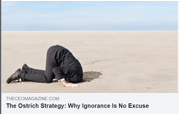 De ce ignoranta nu e o scuza