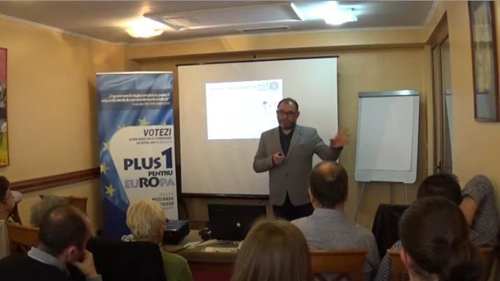 """Conferinta deschisa """"Eu pentru cine votez?"""", Andrei Vacaru, Oradea, 06 mai 2019"""