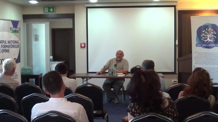 Conferinta deschisa CONFORM – MISCAREA SINERGISTA, 15 iunie 2019, invitat special Daniel Vighi