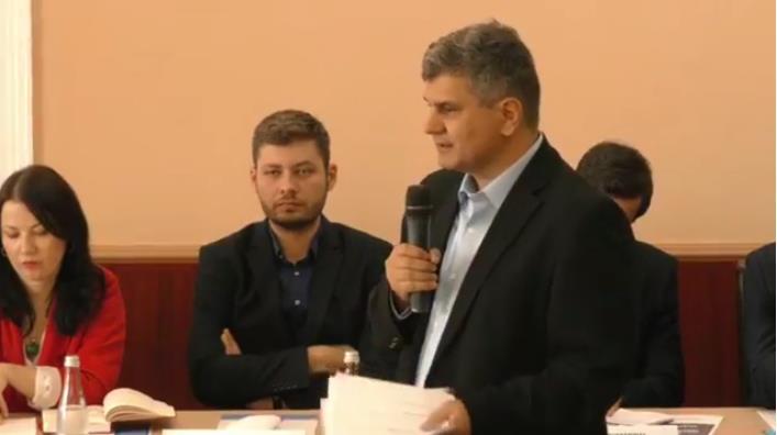 USR Dezbatere la Timisoara moderata de catre Octavian Jurma
